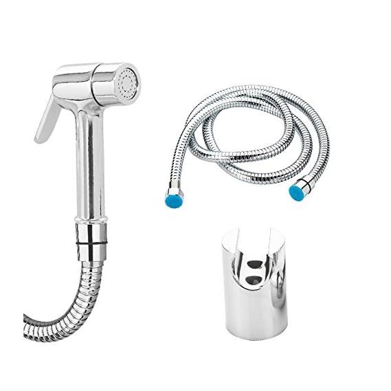 PASSIONERA - Opal Brass Health Faucet Set (Gun + Pipe + Wall Hook)