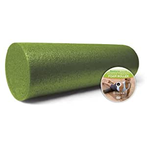 Gaiam 18-Inch Muscle Therapy Foam Roller Sport, Fitness