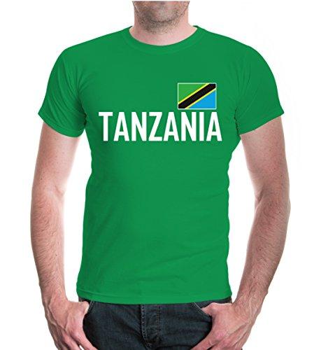 buXsbaum® T-Shirt Tansania Kellygreen-