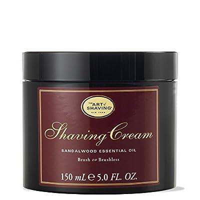 Art of Shaving The Art of Rasierens Sandalwood Shaving Cream (5oz/150ml Sandalwood Shaving Cream (5Ounces/150ml (670535300038)