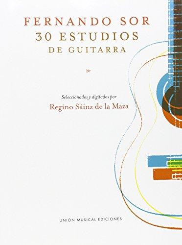 Fernando Sor: 30 Estudios de Guitarra
