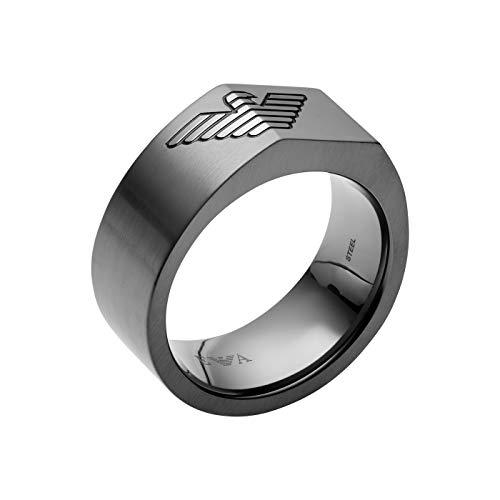 Emporio Armani Herren-Ringe Edelstahl mit \'- Ringgröße 65 EGS2642060-11.5