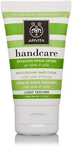 Apivita - Moisturizing Hand Cream With Aloe &Amp; Honey 50Ml/1.65Oz - Soins De La Peau