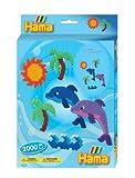 Hama Perlen 3407 - Geschenkpackung Delphin-Mobile