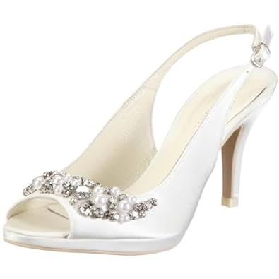 menbur con 04205 damen sandalen brautschuhe fashion sandalen elfenbein ivory 04 eu 36. Black Bedroom Furniture Sets. Home Design Ideas