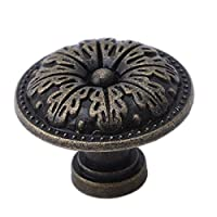 Bigsweety Vintage Bronze Door Drawer Pull Handle Knobs Kitchen Cabinet Jewelry Box Furniture Cupboard Handle (#2)