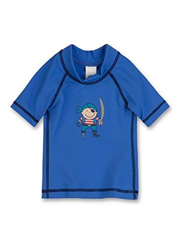 Sanetta Baby - Jungen Badeshirt 430215, Gr. 98, Blau (Amparo 5860)