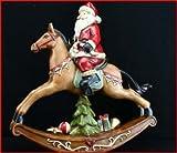 Gisela Graham Cavalli A Dondolo Decorazione Di Natale