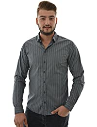 chemise blend of america 20700155 gris