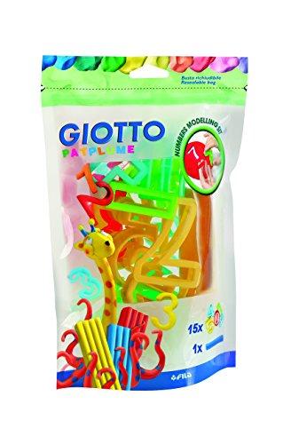 Giotto- patplume accessori busta, numeri, 689900