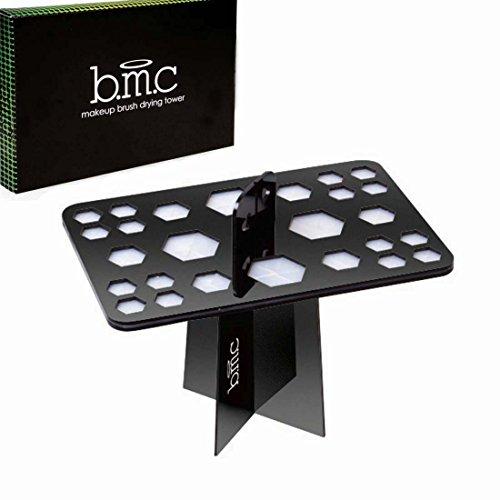 BMC - Arbre sèche-pinceaux pliable - pour 26 pinceaux à maquillage de toutes tailles