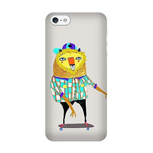iPhone 5C Coque photo - lion patineur