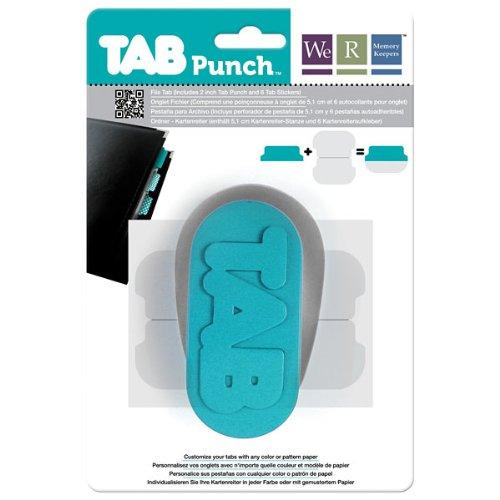 We R Memory Keepers Perforadora Tab Punch - File