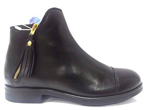 Geox Jr Agata C, Mädchen Booties, schwarz - Schwarz - Größe: EU 37 (Botas De Mujer Altas)