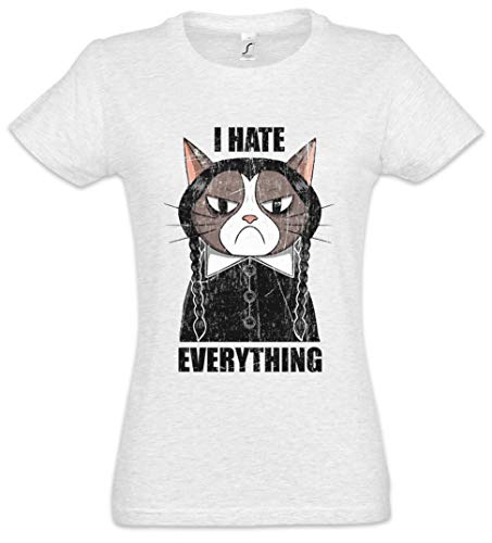 I Hate Everything Cat Damen T-Shirt