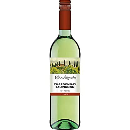6-Flaschen-Vina-Augusta-Chardonnay-Sauvignon-IGT-a-750ml-Weis