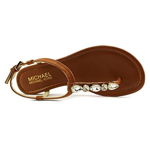 Michael Michael Kors Jayden Flat Cuir Tongs Luggage