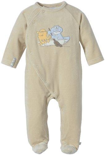 Noukies BB1270132, Pyjama Bébé garçon, (Beige), 1 Mois (Taille Fabricant: 50 (0M)
