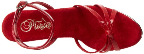Pleaser Flair 436, Escarpins femme Rouge (Red Pat/Red)