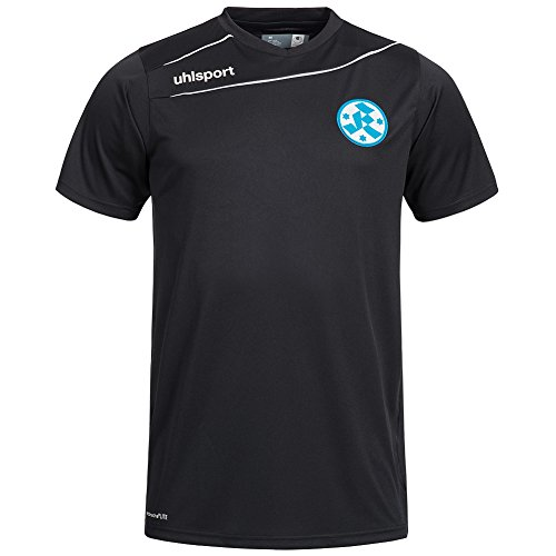 Uhlsport Stuttgarter Kickers STREAM Trikot 15/16 - schwarz/weiß, Größe:XXS