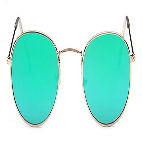 Sport-Sonnenbrillen, Vintage Sonnenbrillen, NEW Retro Round Sunglasses Women Sun Glasses For Women Alloy Mirror Sun Glasses Female Summer Style C3