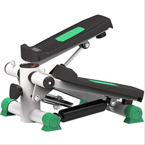 CHENNAO Elliptical Twister Stepper for Fitnessübungen - Verbesserter Qualitätsstahl, einfaches Training unter dem Schreibtisch, Digitalanzeige, Elliptical Trainer mit Widerstandsband verbraucht 15{69c2c7066b02f8e0a9d228d4b96caeb525631553e7d11ba693ae71ba36acf152} me