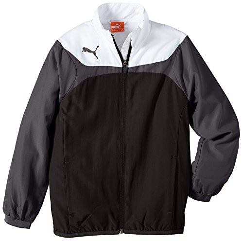 PUMA Kinder Jacke Esito 3 Leisure Jacket, black-white, 176, 653971 03
