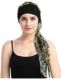 FocusCare chemo turban für krebs frauen krebs kopfbedeckung headwrap schals gap