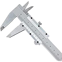 "MXTBY Acero Inoxidable Endurecido 0-150mm 6"" Micrómetro Calibrador Pie De Rey"