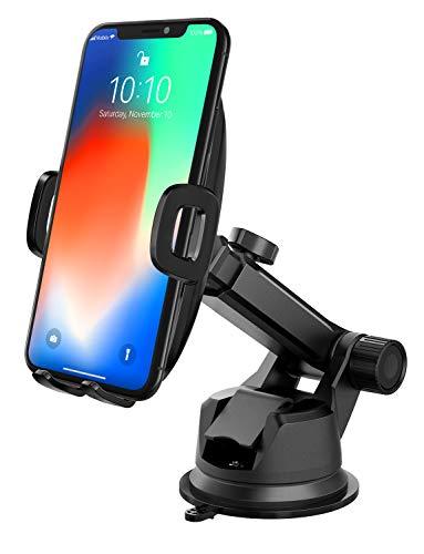 Mpow Handyhalterung Auto Handyhalter fürs Auto KFZ Smartphone Halterung Auto Handyhalterung Kfz Handy Halterung Amaturenbrett Handyhalter Handy Halter für Auto für iPhoneXS,Galaxy9/8,HTC,LG,P20,Google