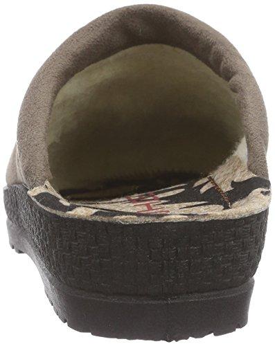 Rohde - Emden, Pantofole da donna Beige (17 trüffel)
