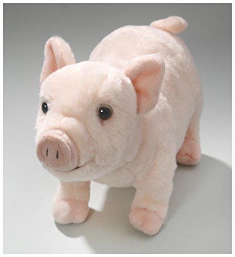 end aus Plüsch ca. 26cm lang, 17cm hoch von Carl Dick (Schwein Stofftiere)