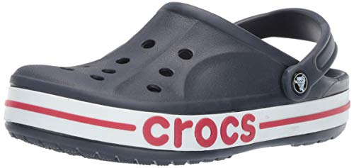 crocs Unisex Bayaband Navy Or Pepper Clogs