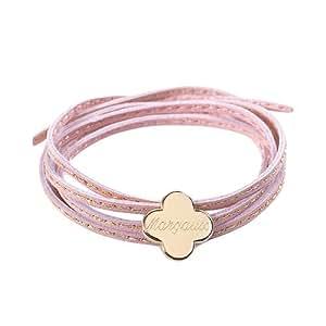 Bracelet Amazone Trèfle, Etoile ou Papillon (argent / plaqué or), Petits Trésors