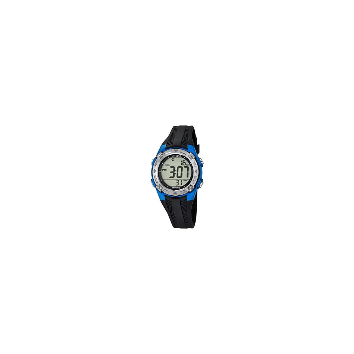 41hj03OnlBL. SS1200  - Calypso Reloj Digital para Unisex de Cuarzo con Correa en Plástico K5685/5