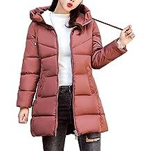 ASHOP Ropa Mujer, Chaquetas Mujer Invierno Talla Grande Abrigos Rebajas Largo Capa Jacket Parka Pullover