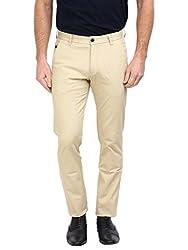 Arrow Sports Mens Casual Trousers (8907378566423_ATSS2423_38W x 36L_Beige)