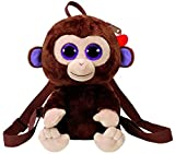 Ty TY95002 Coconut Monkey Back Pack, Multicolored