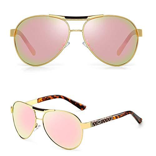 ANHPI Polarisierte Sonnenbrille ultraleichter schwarzer Neuer Trend UV-Schutz (Color : #9)