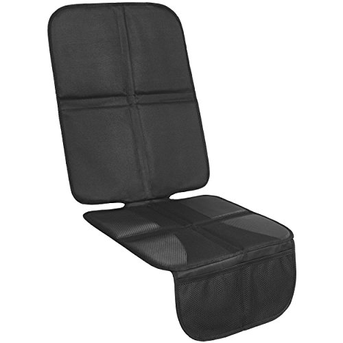 Kindersitzunterlage EXTRA-STARK mit 10mm Polster - ISOFIX-geeignete Autositzauflage | Autositzschutz, Autositzschoner