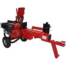 Astilladora de troncos leña 12T forza, motor a gasolina 6.5hp