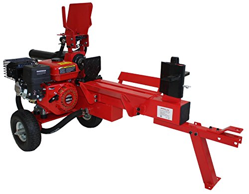 Astilladora de troncos leña 12T fuerza --> Motor a gasolina