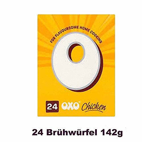 OXO Stock Cubes Chicken 24 per pack 142g (Chicken Gravy)