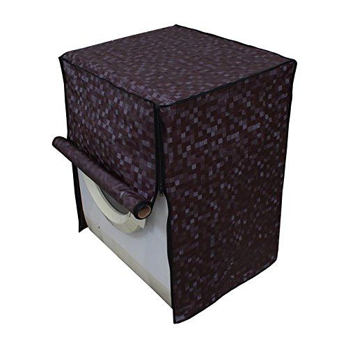 Dream Care Brown Washing Machine Cover for Fully Automatic Front Loading IFB Senorita Aqua SX 6.5 kg  available at amazon for Rs.399