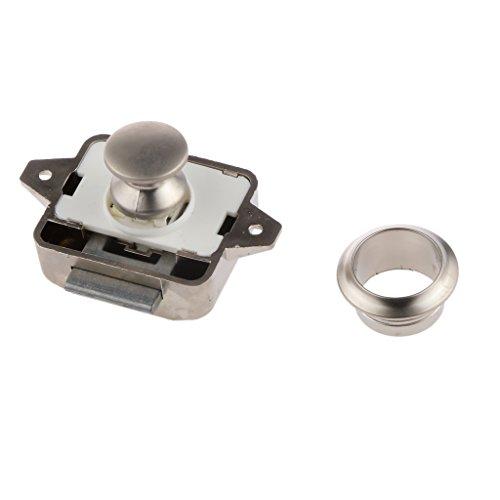 Preisvergleich Produktbild Farbe 3 Nickel 26mm Aktenschrank Schreibtischschublade Schrank Vorreiberverschluß