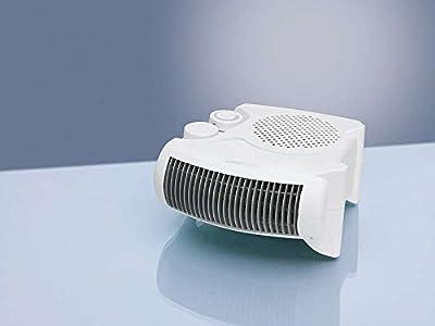 Heizlüfter Regelbarer Thermostat Ventilator Heizgerät Elektroheizer 2 Heizstufen 2 Stellvarianten (Leistungsstarke 2000 Watt + Überhitzungsschutz) von Clatronic bei Heizstrahler Onlineshop