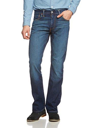 Levi's Herren Jeans 527 Boot Cut Fit Blau (Eli)