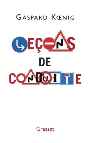 Leçons de conduite (Littérature Française)