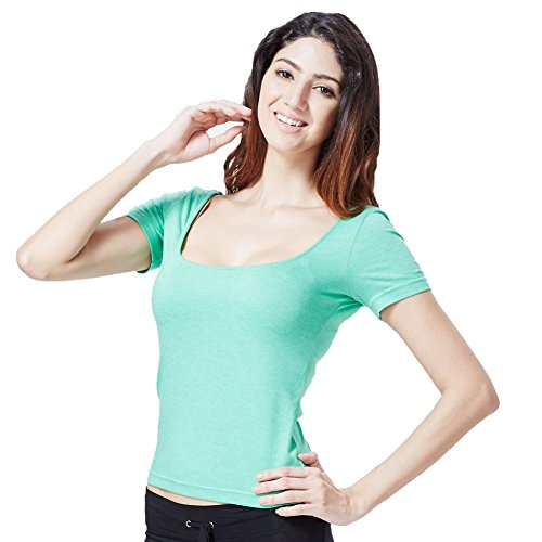 Greatrees - T-shirt - Manches Courtes - Femme Taille Unique F-Green