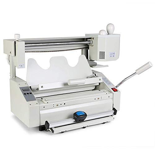Buoqua 4in1 Manual Brossuratrice Binder Hot Glue Book Binder machine 160books/hour buchbindemaschine Bindemaschine for Library Studio Printing and Publishing Enterprises (4in1)